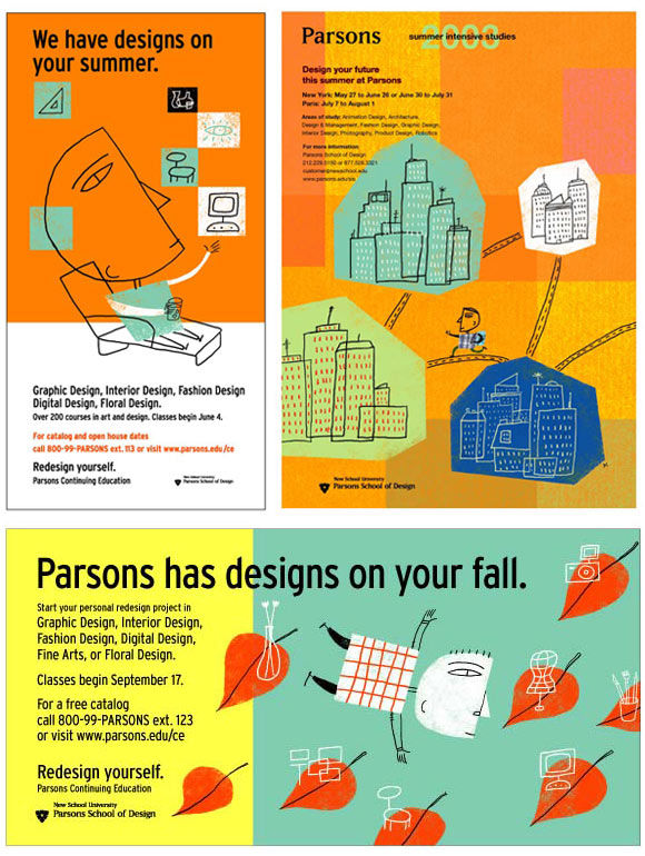 Parsons School Of Design Part 2 Posters